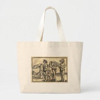 Medieval Monsters Large Tote Bag