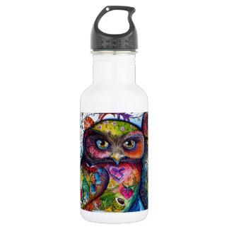 Medieval owls 1 532 ml water bottle