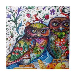 Medieval owls 1 tile
