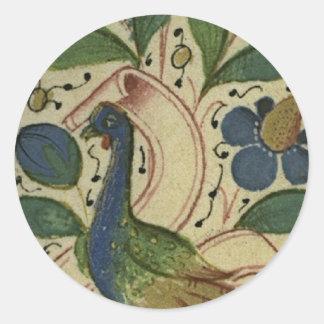 Medieval Pheasant Sticker