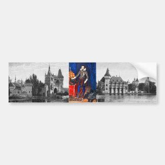 Medieval Portrait Bumper Sticker