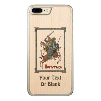 Medieval Russian Bogatyr Carved iPhone 7 Plus Case