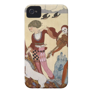 Medieval Scene by Georges Barbier iPhone 4 Cover