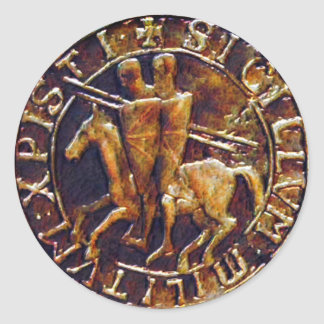 Medieval Seal of the Knights Templar