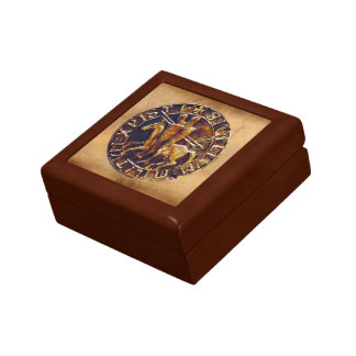 Medieval Seal of the Knights Templar Gift Box