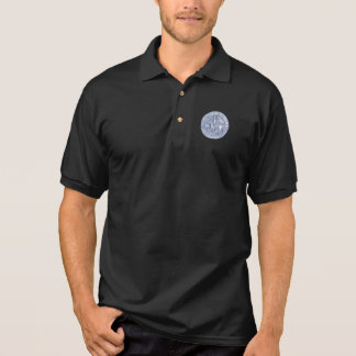 Medieval Seal of the Knights Templar Polo T-shirt