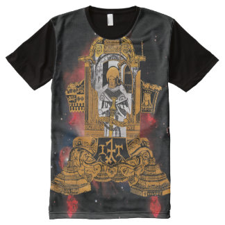 medieval spaceship All-Over print T-Shirt