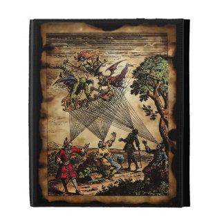 Medieval Spirit Minstrels iPad Folio Case