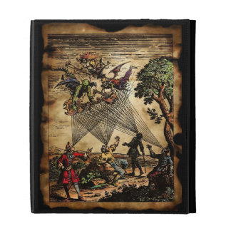 Medieval Spirit Minstrels iPad Folio Cover