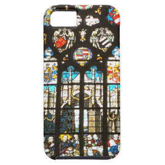 Medieval stained glass window, Holland iPhone 5 Cover