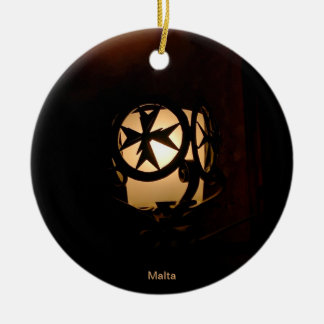 Medieval style lantern from Malta Christmas Ornament
