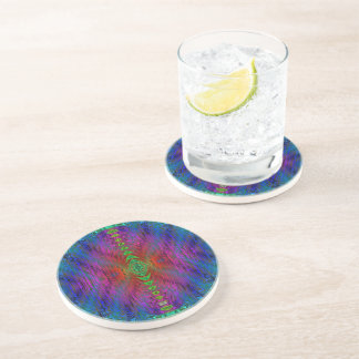 Medieval Time Warp Space Portal to Other World Drink Coaster