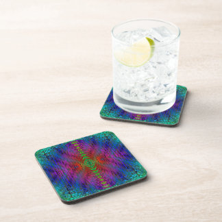 Medieval Time Warp Space Portal to Other World Beverage Coasters