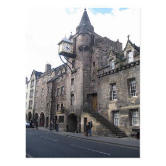 Medieval Tollbooth Tavern in Edinburgh, Scotland Postcard