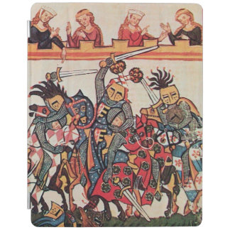 MEDIEVAL TOURNAMENT, FIGHTING KNIGHTS AND DAMSELS iPad COVER