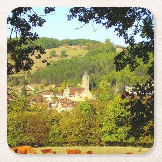 Medieval Village of Plazac Coaster