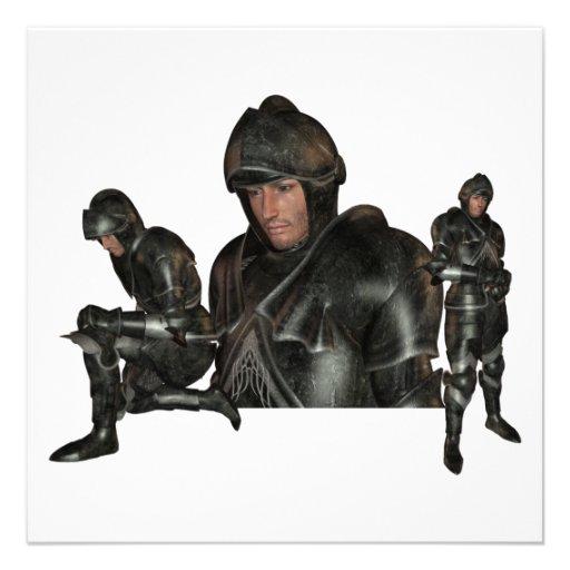 Medieval Warrior Invitations