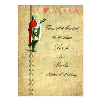 Medieval Wedding Invitations