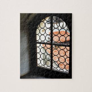 Medieval window jigsaw puzzle