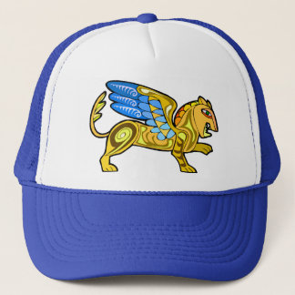 Medieval Winged Lion Gryphon Trucker Hat
