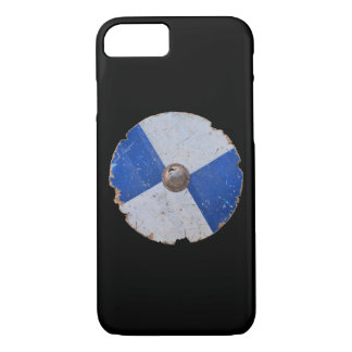 medieval wood metal shield war weapon armor histor iPhone 8/7 case