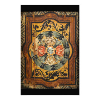 medieval wood painting art vintage old gothic hist stationery