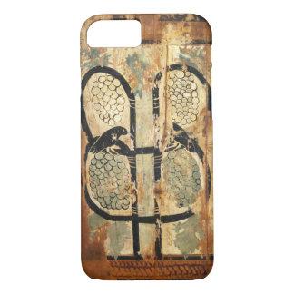 medieval wood painting art vintage old history iPhone 8/7 case