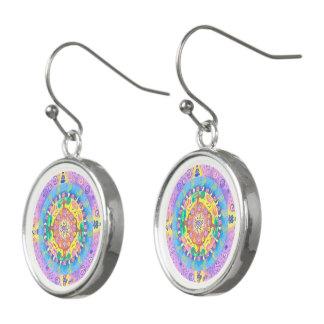 Medilludesign - Mandala Meditation Earrings
