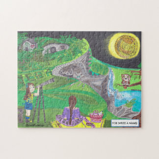 Medilludesign - observing nature jigsaw puzzle