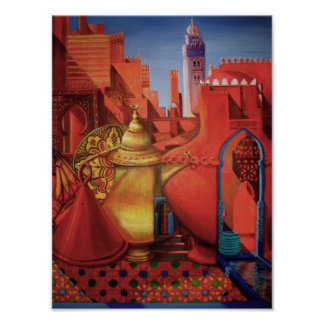 Medina Marrakesh Poster