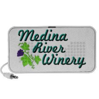 Medina River Logo Items PC Speakers