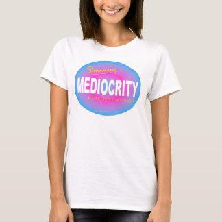 """Mediocrity"" Blue/Pink T-Shirt"