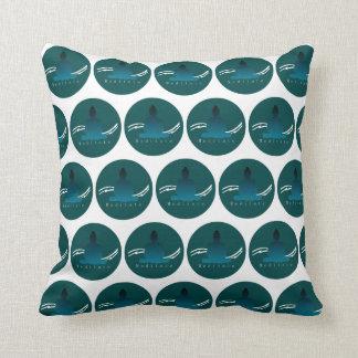 """""""Meditate"""" Beautiful Buddha cushion. Cushion"""