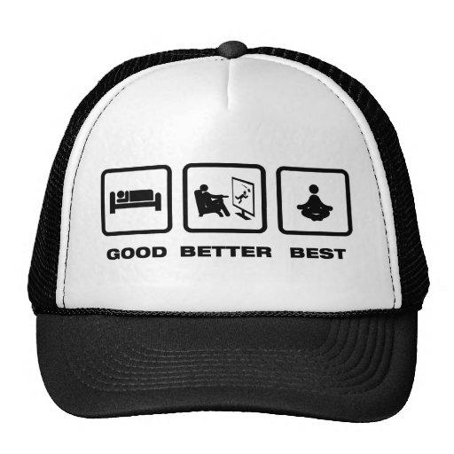 Meditate Mesh Hat