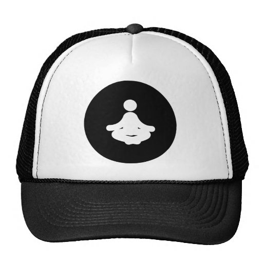 Meditate Trucker Hats