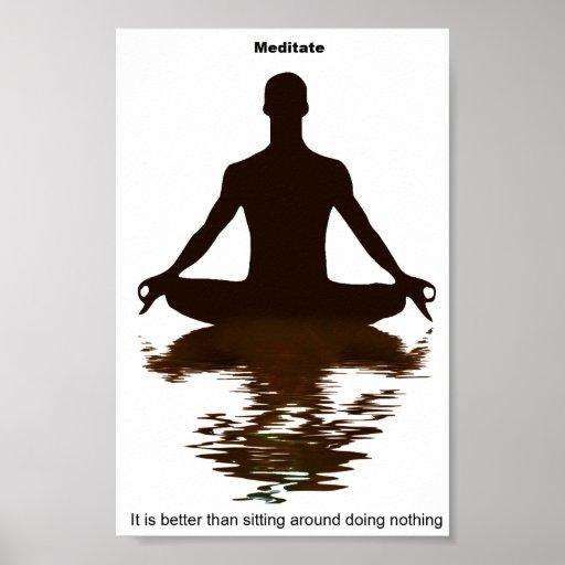 Meditate, it's better print