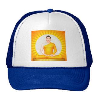 Meditating Buddha hat