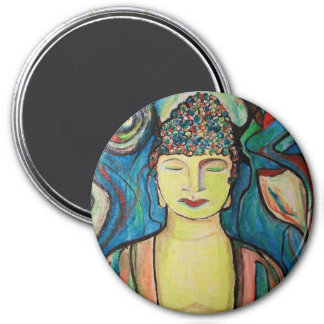 Meditating Buddha Magnet by ValAries