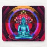 Meditating Buddha Mousepad