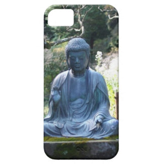 Meditating Buddha statue iPhone 5 Covers