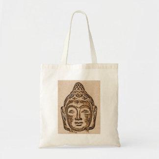Meditating Buddha Tote Shopping Bag