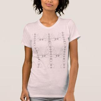 Meditating Chakras T-shirts