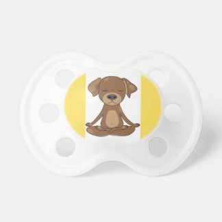 Meditating Doggy Pacifier