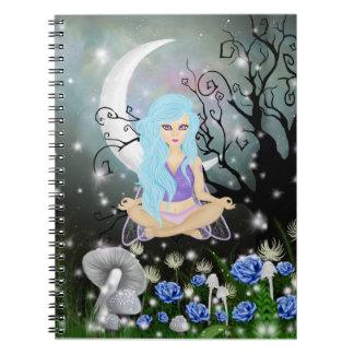 Meditating Fairy Notebook