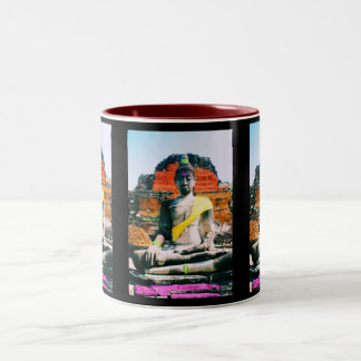 Meditating in Sedona Coffee Mugs