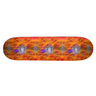 Meditating Owl Floating Rest Balance Art Skate Board Decks