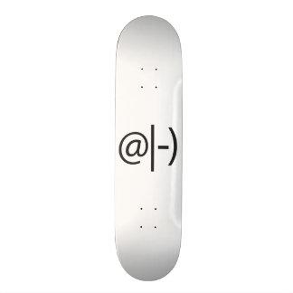 meditating smile ai skateboard