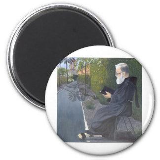 Meditation 6 Cm Round Magnet