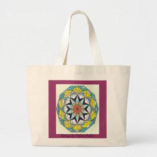 Meditation bag. large tote bag