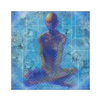 Meditation by T.Orr Canvas Print